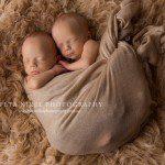 Twins Jamie and Ethan – Hobart Newborn Photographer