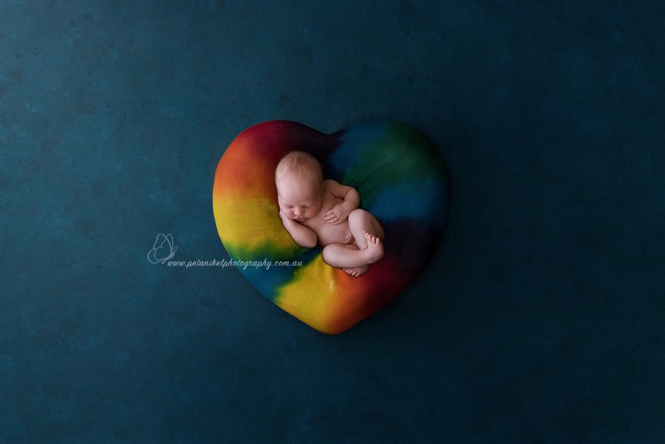 Hobart Rainbow Baby Photographer
